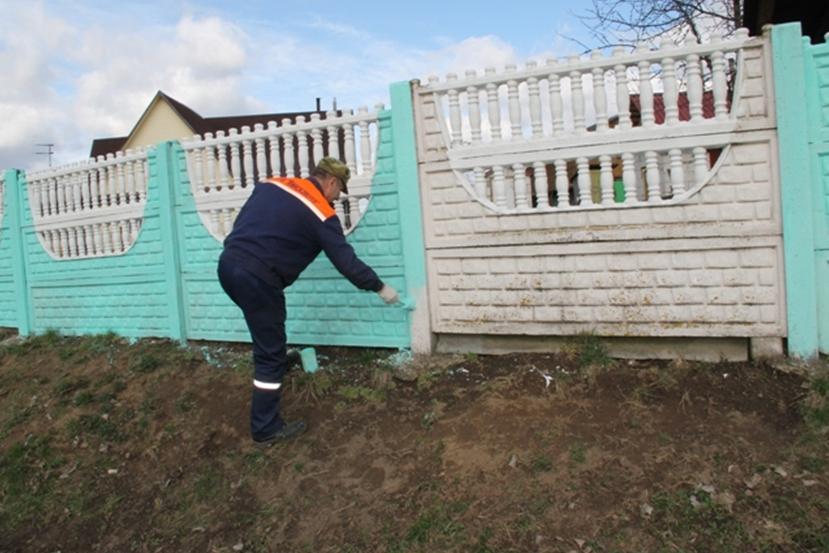 Покраска и ремонт заборов в Москве и области