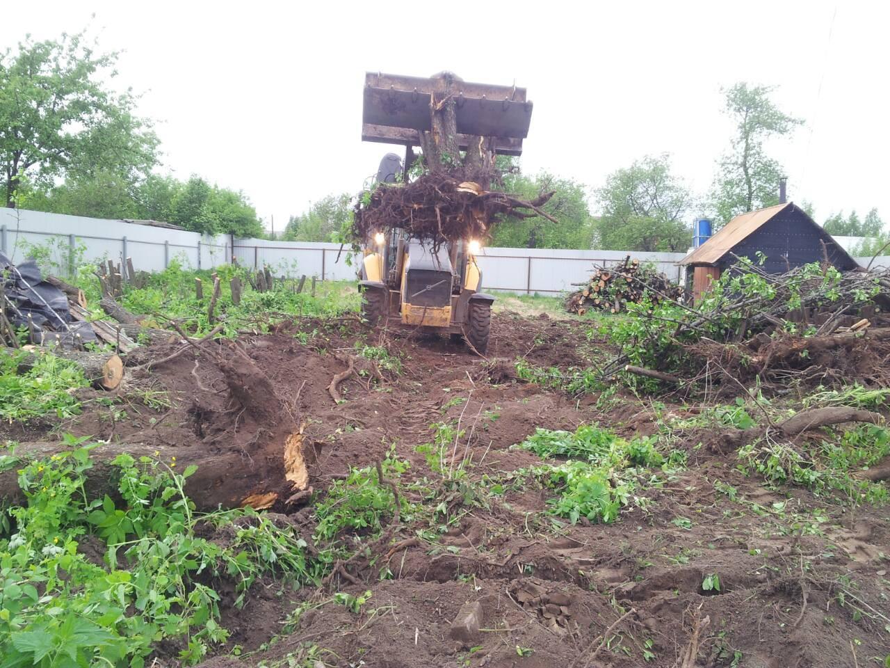 Расчистка участков в Москве и области
