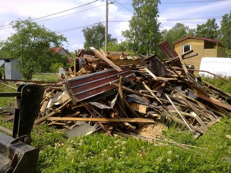 Вывоз мусора в Москве и области